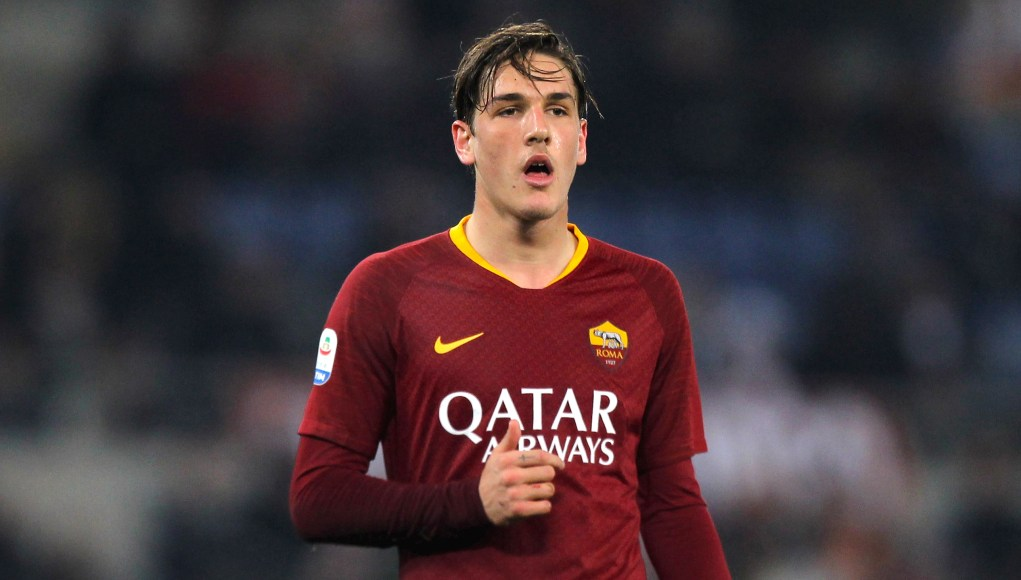 Nicolo' Zaniolo of AS Roma