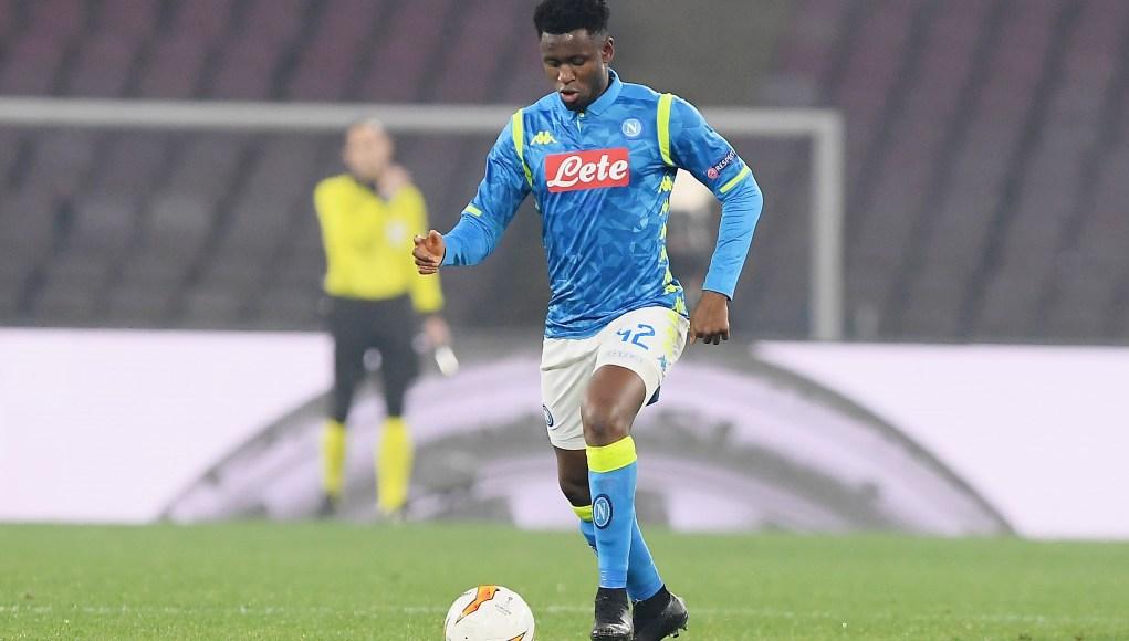 Amadou Diawara of SSC Napoli
