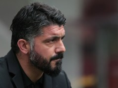 AC Milan coach Ivan Gennaro Gattuso