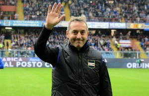 GENOA, ITALY - MAY 26: Marco Giampaolo head coach of UC Sampdoria during the Serie A match between UC Sampdoria and Juventus at Stadio Luigi Ferraris on May 26, 2019 in Genoa, Italy. (Photo by Paolo Rattini/Getty Images)