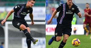 Praet Andersen Sampdoria