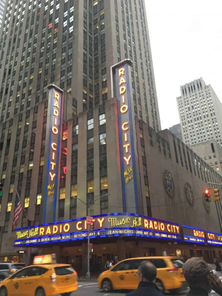 Radio City Hall Rockefeller Center New York Manhattan