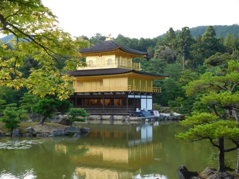 Tempio d'oro di Kyoto in Giappone