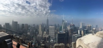 Top of the Rock Panoramica New York vista dall'alto
