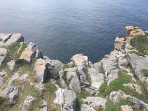 Scogliere delle Isole Aran in Irlanda