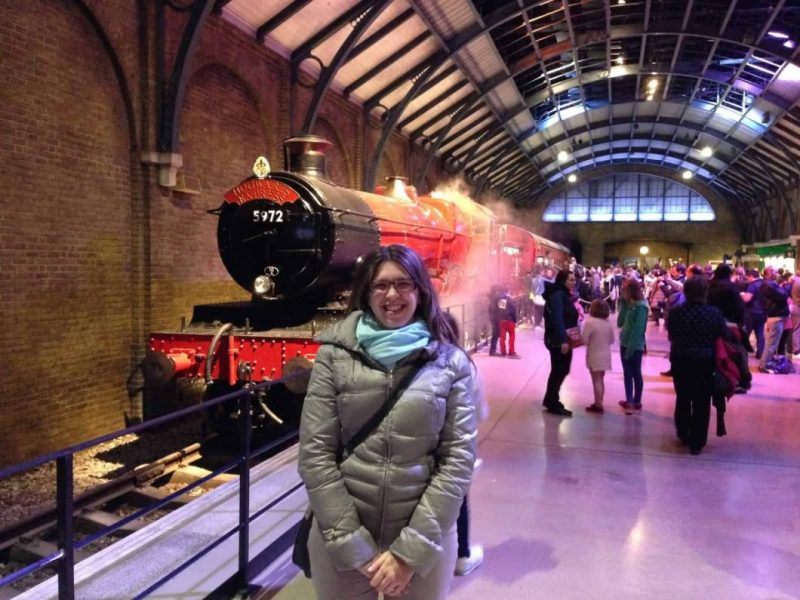 L'Hogwarts express all'Harry Potter Warner Bros studios