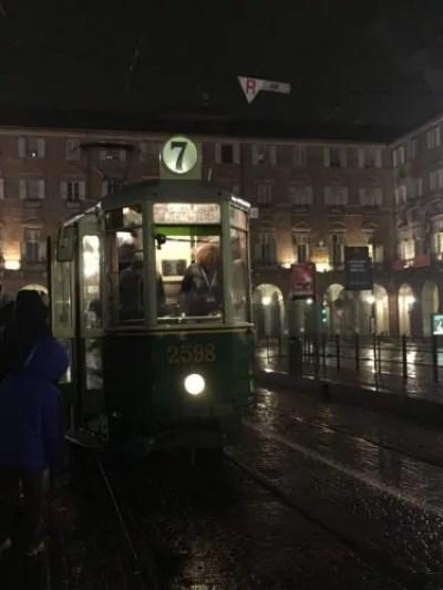 Il tram con cui abbiamo visitato Luci d'Artista
