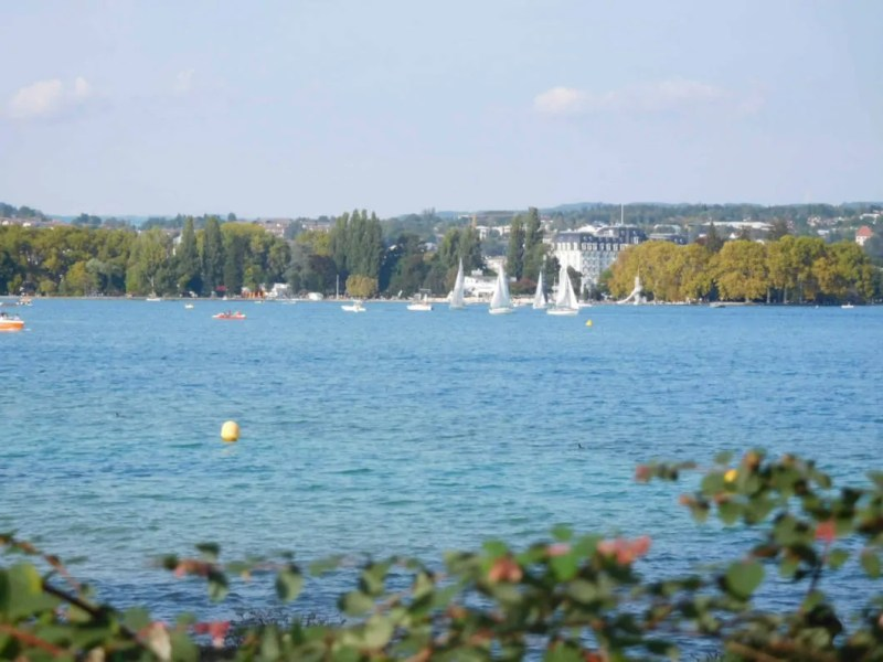 Lago Annecy sport