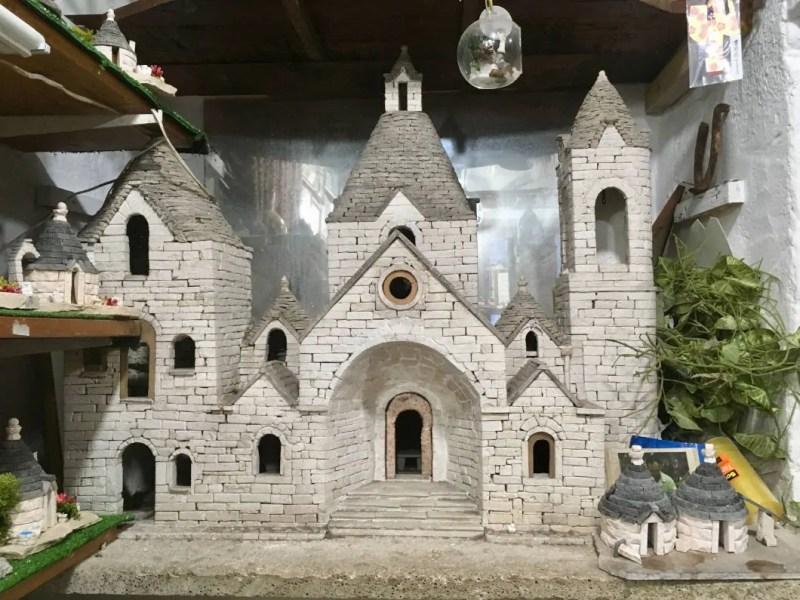 Chiesa a trullo di Sant Antonio di Padova riproduzione