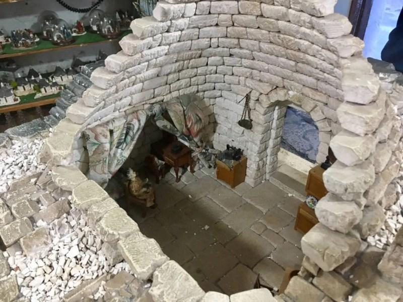 Sezione interna di un trullo
