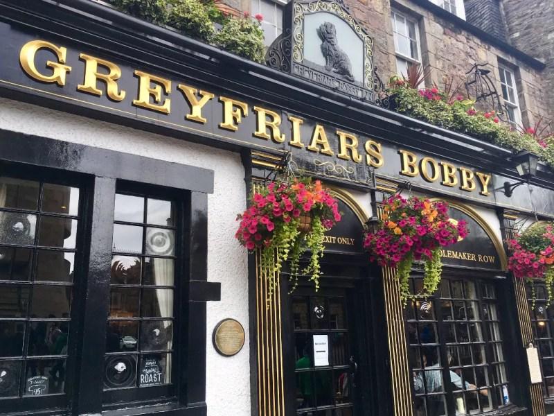 Greyfriars Bobby pub a Edimburgo