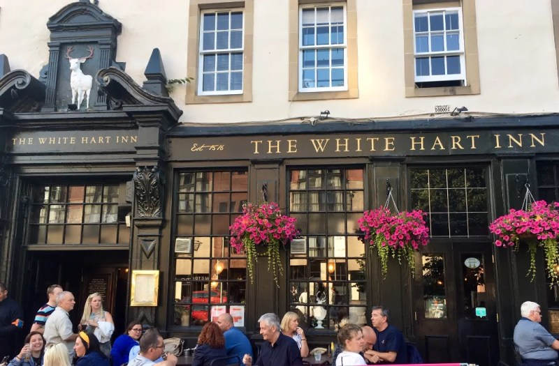 The white hart inn pub a Edimburgo