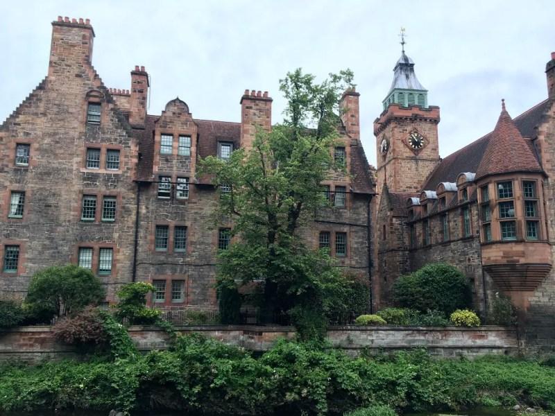 Abitazioni del Dean Village a Edimburgo