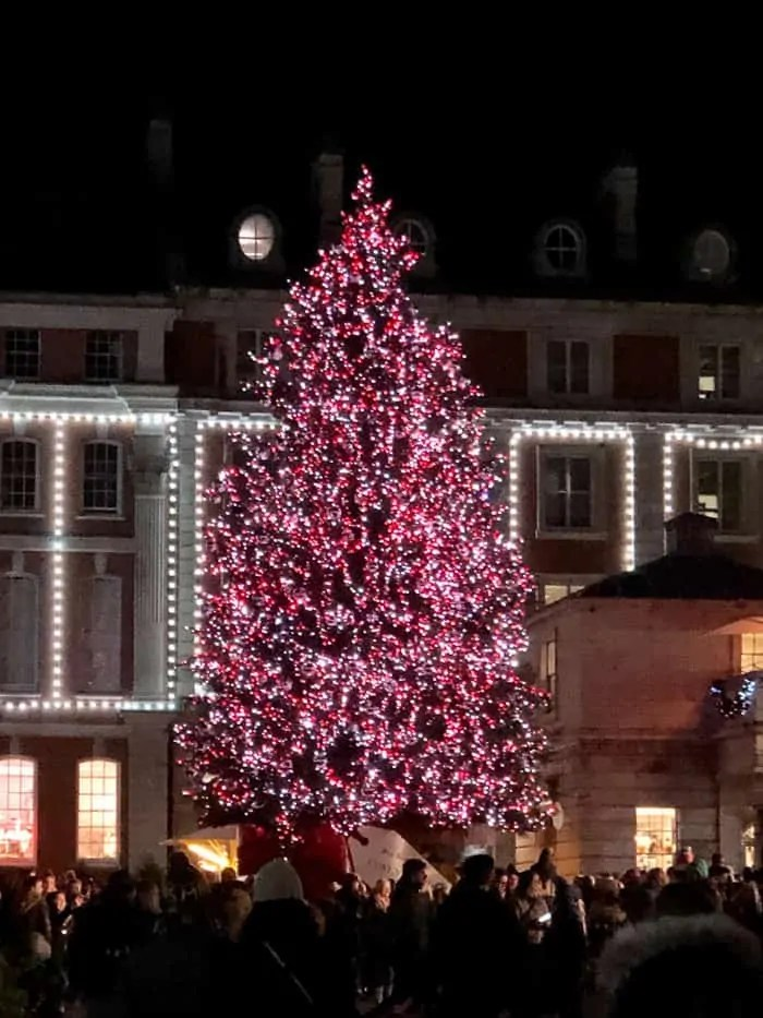 L'albero di Natale a Covent Garden