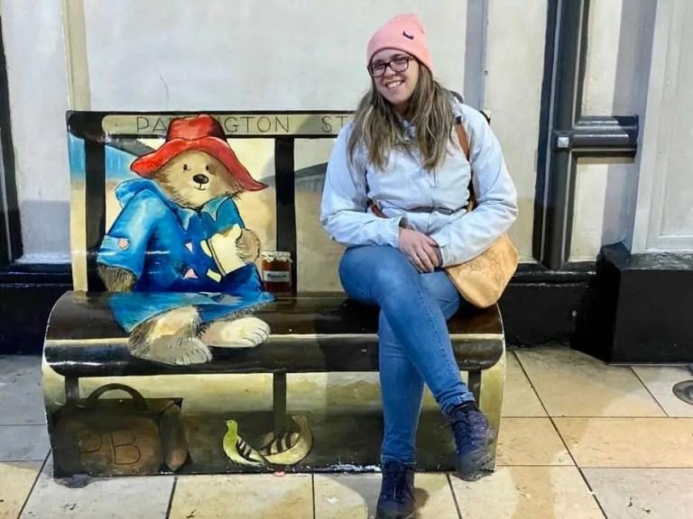 L'orso Paddington alla stazione di Londra