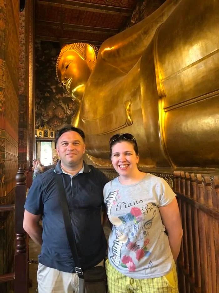Il Grande Buddha sdraiato di Bangkok