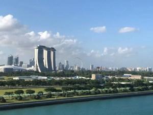 Singapore con vista della citta