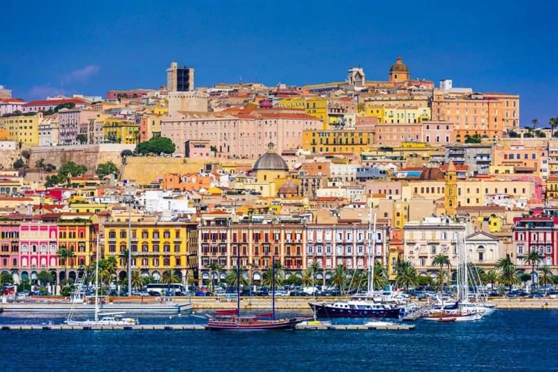 Cagliari famosa città della Sardegna