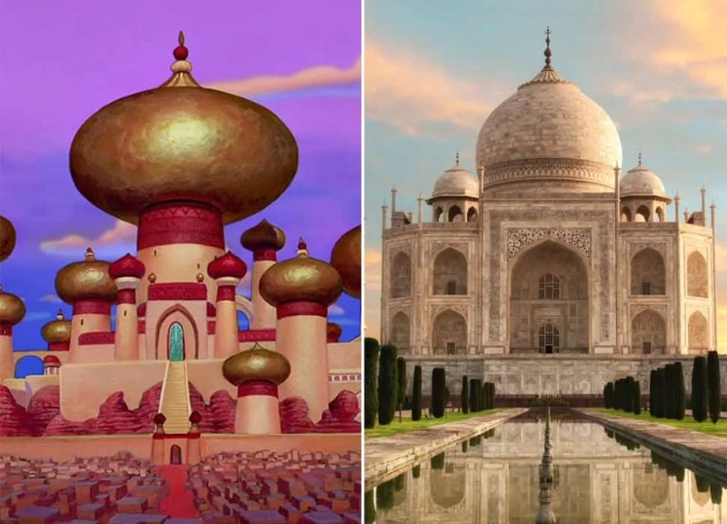 Location del film Disney Aladdin