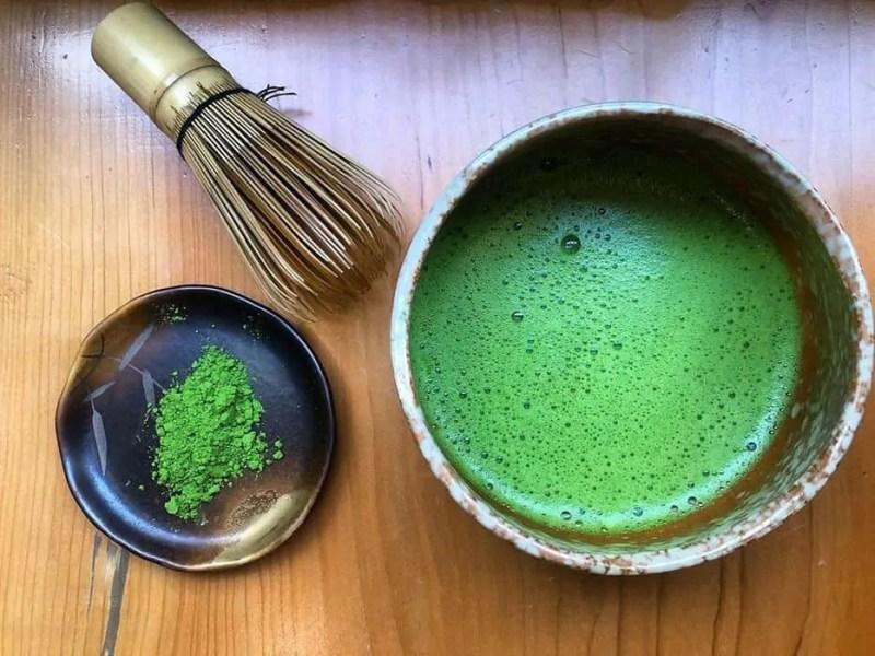 Tè matcha giapponese