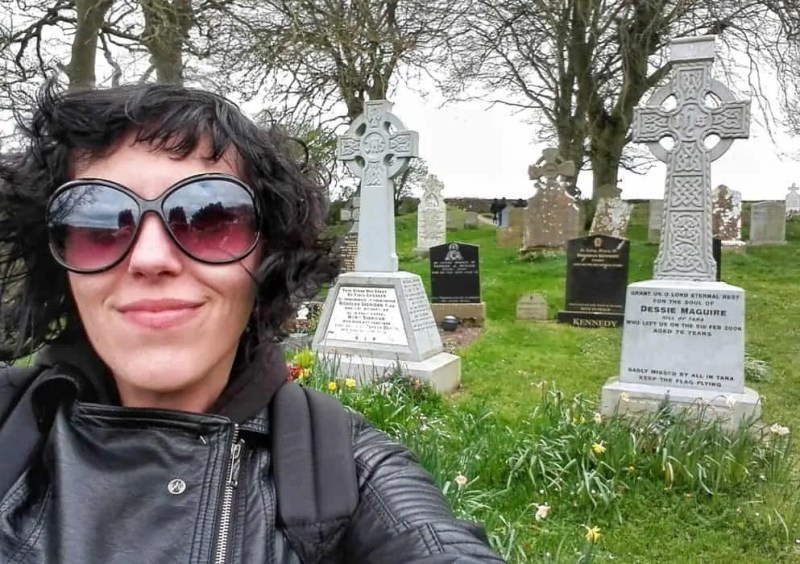 Claudia Vannucci autrice di Cemetery Safari