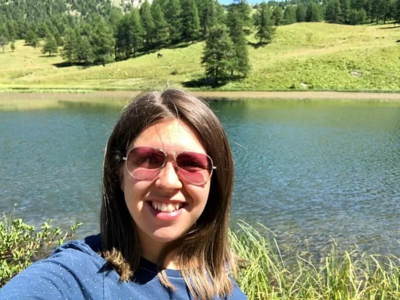 Paesaggio del Lago Nero