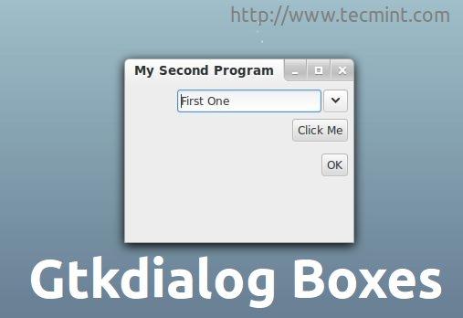 gtkdialog