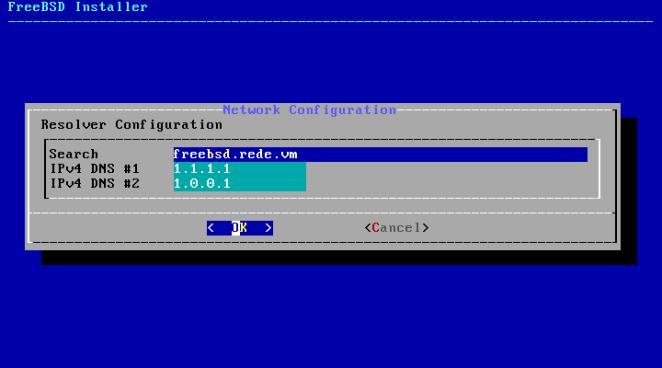 FreeBSD - configuração de domínio e DNS