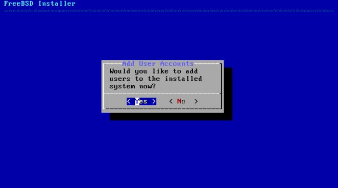 FreeBSD - adicionar usuário no sistema