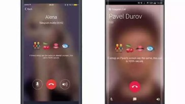 Telegram adicionar recurso de chamadas de voz
