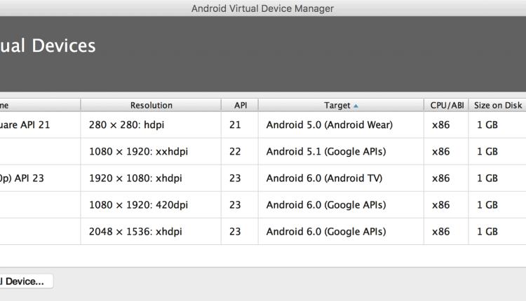 avd-android-virtual