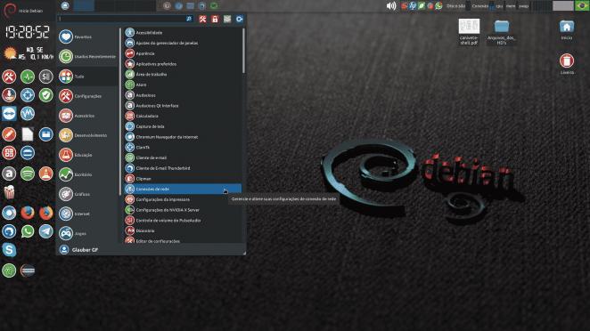 Desktop customizado