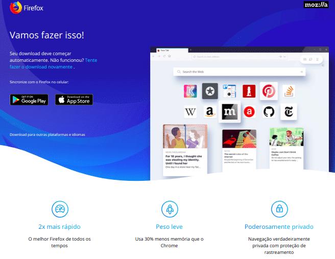 Mozilla lança Firefox 60 com várias novidades e conteúdo patrocinado