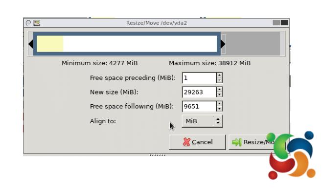 MultiLinux - GParted - GParted 6