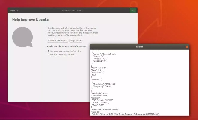 Métricas Ubuntu