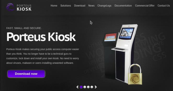 Porteus Kiosk 4.7.0 acaba de ser lançado