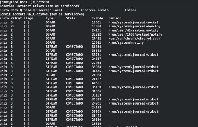 003 - netstat - 5 comandos Linux para monitorar o uso da CPU