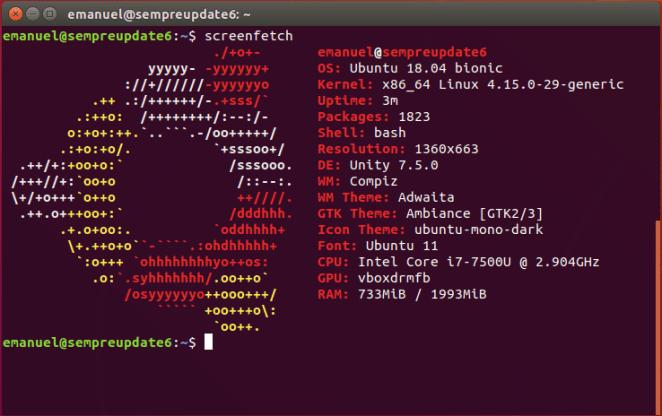 Como instalar o Unity 7 Desktop no Ubuntu 18 04 LTS | SempreUPdate