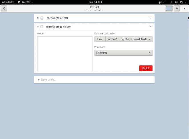001 - 5 aplicativos para gerenciar sua lista de tarefas no Fedora