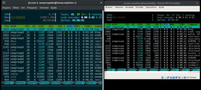 012 - Múltiplas telas com o Screen