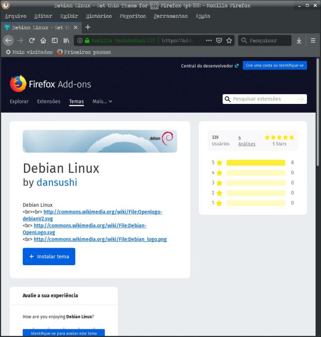 Como adicionar tema no LibreOffice - Tema Debian Linux