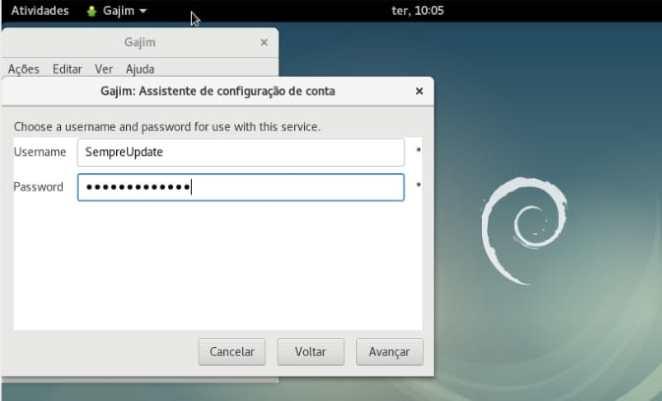 004 - Instalando cliente XMPP no Debian