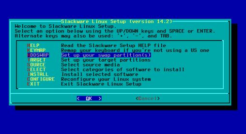 Como instalar o Slackware GNU/Linux