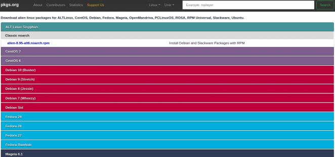 RPM ou DEB? Em breve será mais fácil criar pacotes Debian no Fedora