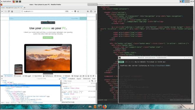 Conheça o Maru OS, ambiente operacional Linux para Android