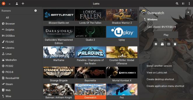 Ferramenta de gerenciamento de jogos Lutris 0.5.4 foi lançada