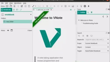 Como instalar o programa de anotações VNote Note Taking no Linux