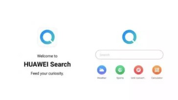 Huawei Search App substitui Google App