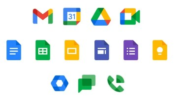 Novos ícones do Google Workspace lançados. Veja a nova cara do Drive, Gmail, Chat, Meet, Docs, Keep, Calendar e Voice