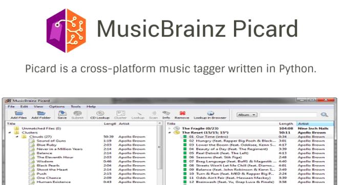 Como instalar o MusicBrainz Picard, um identificador de áudio, no Ubuntu, Linux Mint, Fedora, Debian